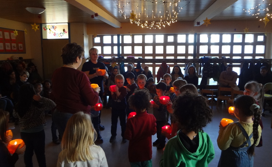 Viertes Adventssingen im Kindergarten